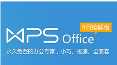 WPS Office个人版 v10.1.0.7400官方免费版