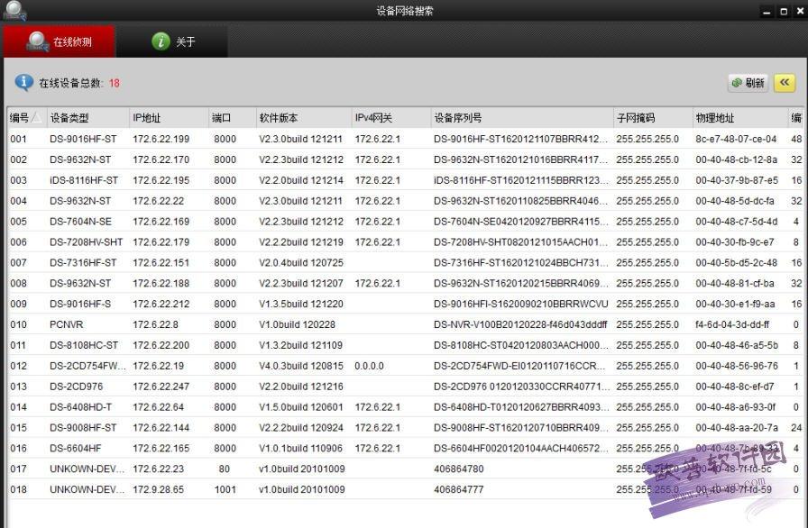 海康威视SADP(设备网络自动搜索软件) v2.2.3.14 官方版
