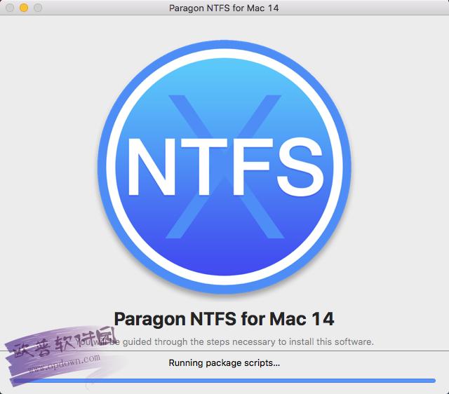 paragon ntfs for mac 15 v15.0.293 附使用教程