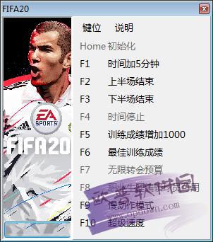 FIFA20十项修改器
