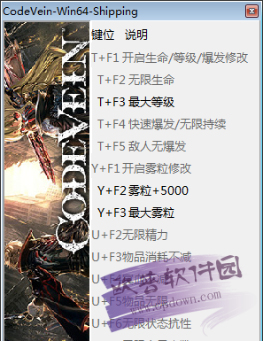 噬血代码十三项修改器
